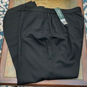 Ralph Lauren Womens Slacks Pants Trouser, 22W NWT